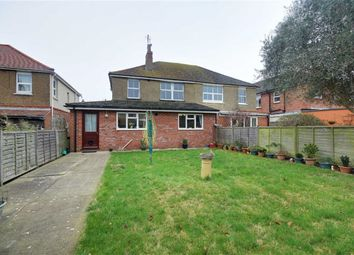 Thumbnail 4 bed semi-detached house for sale in Gannon Road, Worthing, West Sussex