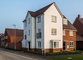 Thumbnail 4 bedroom town house to rent in Bridger Way, Maidstone