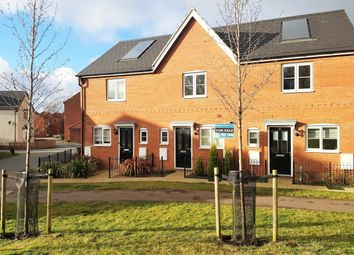 Thumbnail 2 bedroom terraced house for sale in Daffodil Close, Cringleford, Norwich