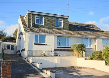 Thumbnail 4 bedroom semi-detached bungalow for sale in Longcroft Avenue, St Marys, Brixham