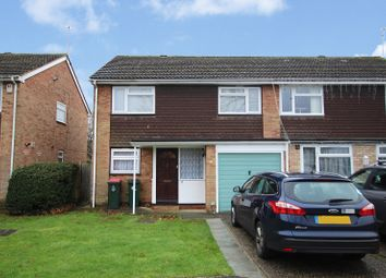 Thumbnail 4 bed semi-detached house for sale in Parkfield Close, Crawley, West Sussex.