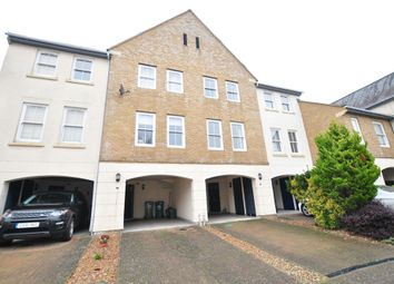 Thumbnail 4 bed terraced house for sale in Wraysbury Gardens, Staines Upon Thames, Surrey