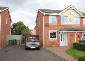 Thumbnail 2 bed end terrace house for sale in Stane Drive, Bracebridge Heath, Lincoln