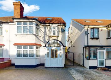 Thumbnail 4 bed semi-detached house for sale in Abbotts Drive, Wembley