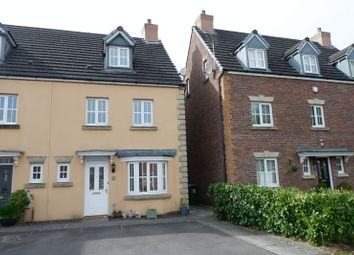 Thumbnail 4 bed town house for sale in Crystal Wood Drive, Miskin, Pontyclun
