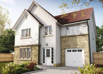 "Thumbnail 5 bed detached house for sale in ""Crichton"" at Penicuik Road, Roslin"