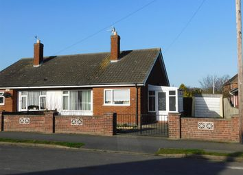 Thumbnail 2 bed semi-detached bungalow for sale in Church Road South, Skegness