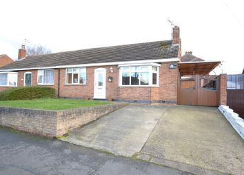 Thumbnail 2 bed semi-detached bungalow for sale in Homefield Road, Sileby, Leicestershire