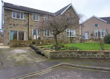 Thumbnail 5 bed semi-detached house for sale in Nab View, Silsden