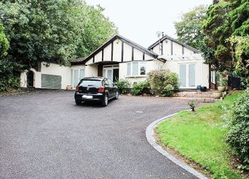 Thumbnail 4 bed detached bungalow for sale in Church Road, Stonnall, Walsall