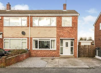 Thumbnail 3 bed semi-detached house for sale in Edinburgh Drive, North Anston, Sheffield, South Yorkshire