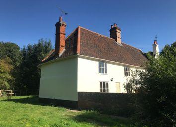 Thumbnail 2 bed cottage to rent in Needham Road, Coddenham