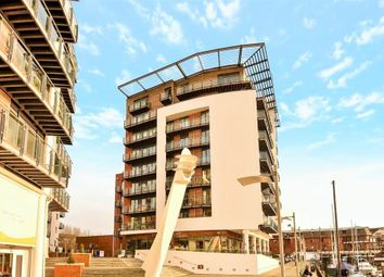 Thumbnail 2 bed flat for sale in 31 Channel Way, Southampton