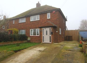 Thumbnail 2 bed semi-detached house for sale in Stoke Road, Allhallows, Rochester, Kent