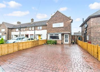 Thumbnail 3 bed end terrace house for sale in Grieves Road, Northfleet, Kent