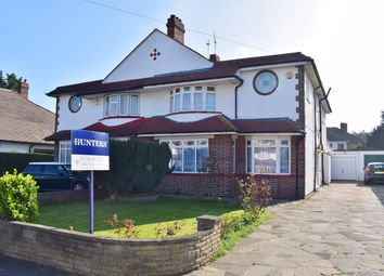 Thumbnail 5 bedroom semi-detached house for sale in Willersley Avenue, Sidcup, Kent