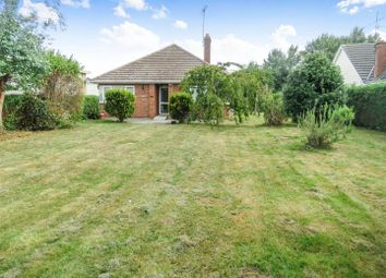 Thumbnail 3 bed detached bungalow for sale in Glatton Road, Sawtry, Huntingdon
