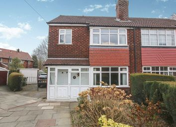 Thumbnail 3 bed semi-detached house for sale in Crawley Grove, Offerton, Stockport