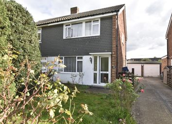 Thumbnail 3 bed semi-detached house for sale in Osborne Close, Hanworth, Middlesex