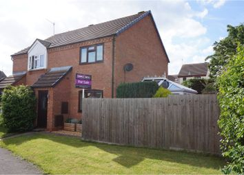 Thumbnail 2 bed semi-detached house for sale in Orchard Close, Alcester