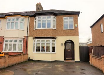 Thumbnail 3 bed end terrace house for sale in Hainault Road, Romford