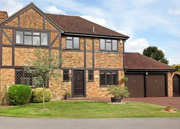Thumbnail 4 bed detached house for sale in Millais Court, Manor Fields, Horsham, West Sussex