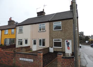 Thumbnail 2 bed end terrace house to rent in Church Road, Lowestoft