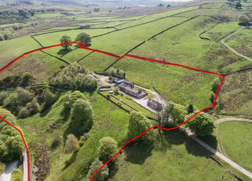 Thumbnail 3 bedroom cottage for sale in Greensytch Farm, Gradbach Mill Lane, Quarnford, Buxton