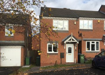 Thumbnail 2 bed end terrace house to rent in Deavall Way, Cannock