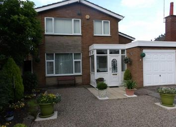 Thumbnail 3 bed detached house for sale in St Michaels Close, Atherstone, Warwickshire