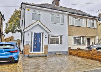 Thumbnail 3 bed property for sale in Burnham Avenue, Ickenham, Uxbridge