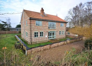 Thumbnail 5 bedroom detached house for sale in Station Road, Watlington, King's Lynn