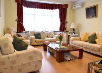 Thumbnail 4 bed semi-detached house to rent in Western Avenue, Golders Green, London