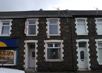 Thumbnail 3 bed terraced house for sale in Ynyscynon Road, Trealaw, Rhondda Cynon Taff.