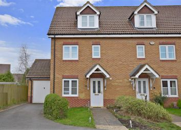 Thumbnail 3 bed end terrace house for sale in Percival Close, Lee On The Solent, Gosport, Hampshire