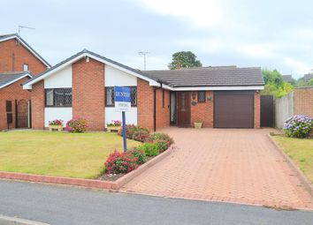 Thumbnail 3 bed detached bungalow for sale in Pentire Road, Lichfield