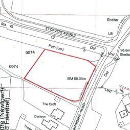 Thumbnail Land for sale in Main Road, Llantwit Fardre, Pontypridd