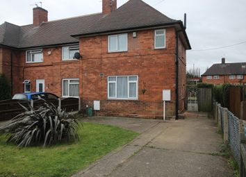 Thumbnail 3 bedroom end terrace house to rent in Raydon Drive, Nottingham