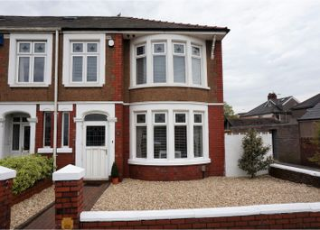Thumbnail 3 bed end terrace house for sale in St. Georges Road, Cardiff