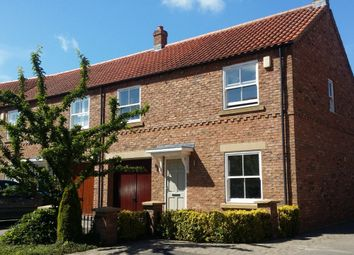 Thumbnail 3 bed end terrace house for sale in Wilkinsons Court, Easingwold, York