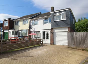 Thumbnail 4 bed semi-detached house for sale in St. Augustines Close, Barton, Torquay