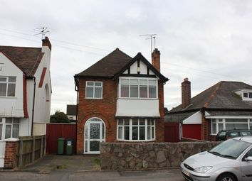 Thumbnail 3 bed detached house to rent in Narborough Road South, Leicester