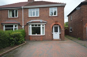 Thumbnail 3 bed semi-detached house to rent in Abbey Road, Sandbach