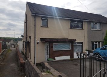 Thumbnail 4 bed property to rent in Heol Aneurin, Tonyrefail, Porth