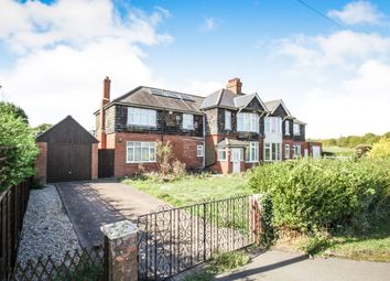 Thumbnail 4 bed semi-detached house for sale in Barton Road, Streatley, Luton