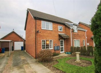Thumbnail 2 bed property for sale in Anglian Way, Market Rasen, Lincolnshire