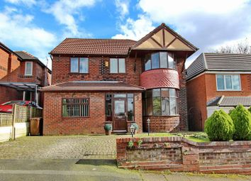 Thumbnail 4 bedroom detached house for sale in Sandy Meade, Prestwich, Manchester