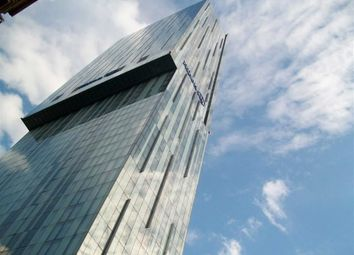 Thumbnail 1 bed flat to rent in Beetham Tower, Manchester City Centre, Manchester