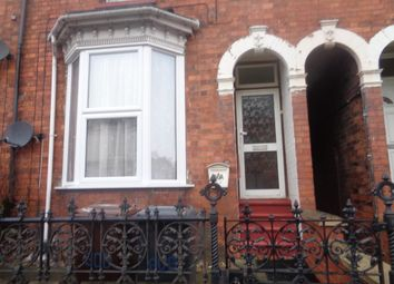 Thumbnail 1 bed terraced house to rent in Monks Road, Lincoln