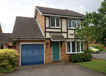 Thumbnail 4 bed detached house for sale in Wesley Drive, Egham